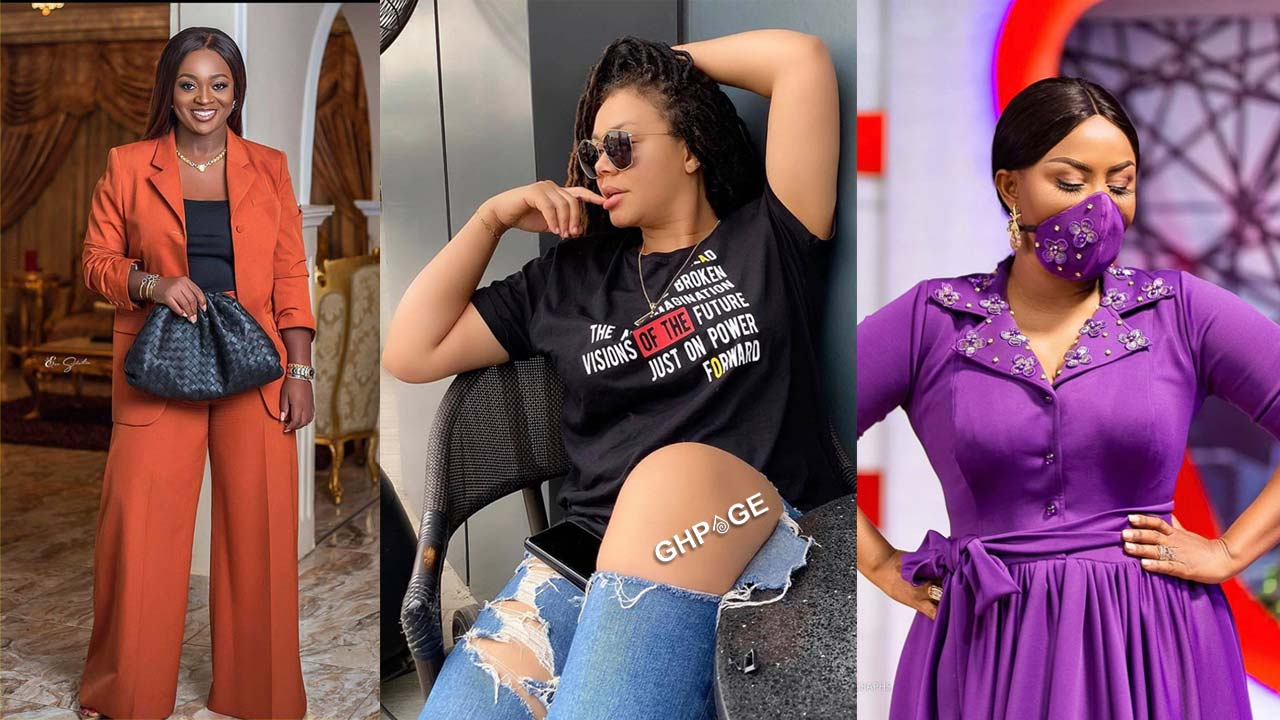 Top 5 all-time popular contemporary actresses in Ghana