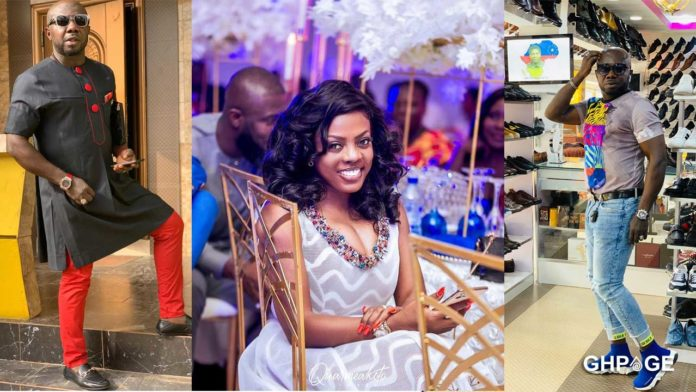 Nana Aba and Osebp baby daddy