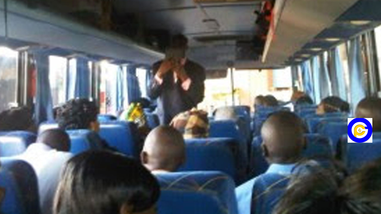 Pastor beaten after 2 packs of condom fell from his Bible in a bus