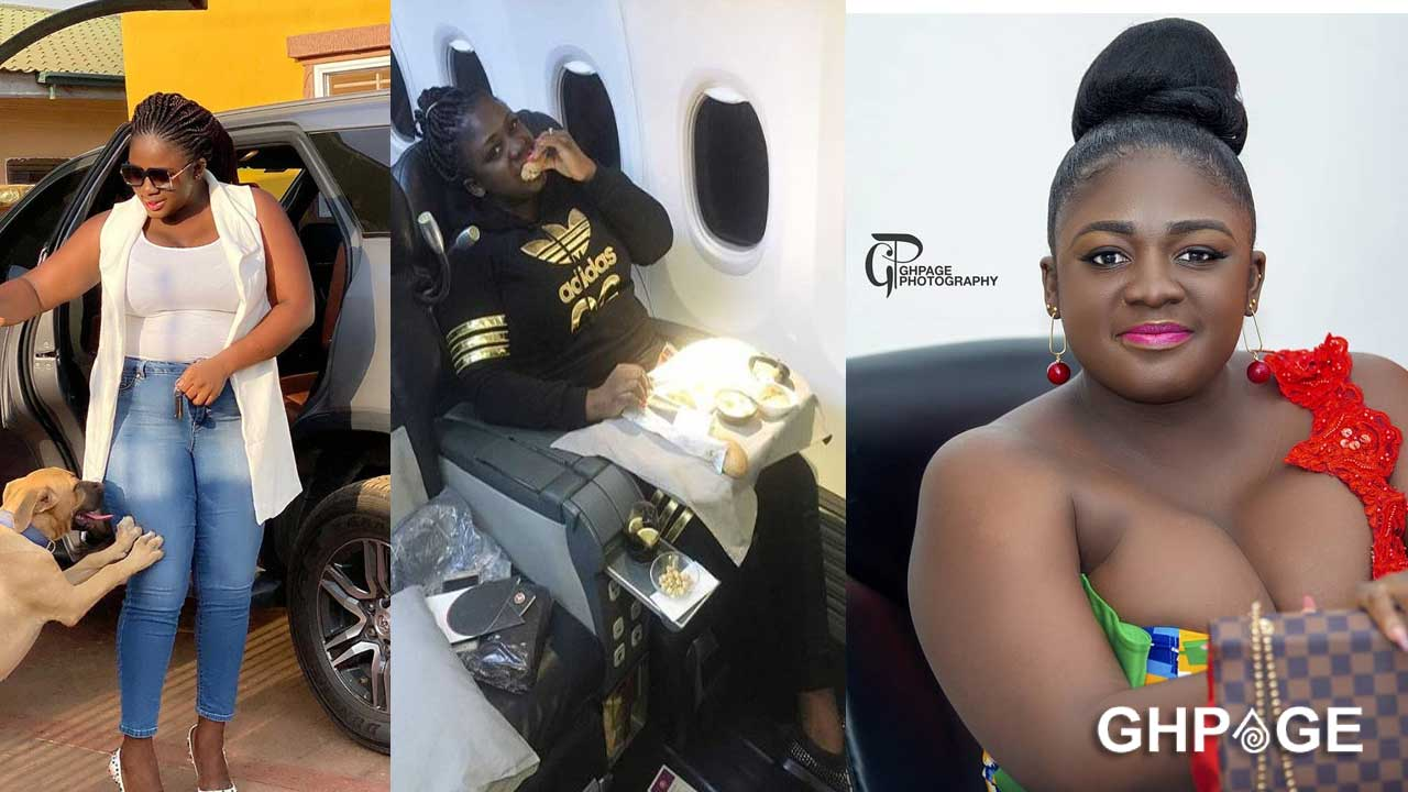 Tracey Boakye defends her spot as the 2nd richest Kumawood actress