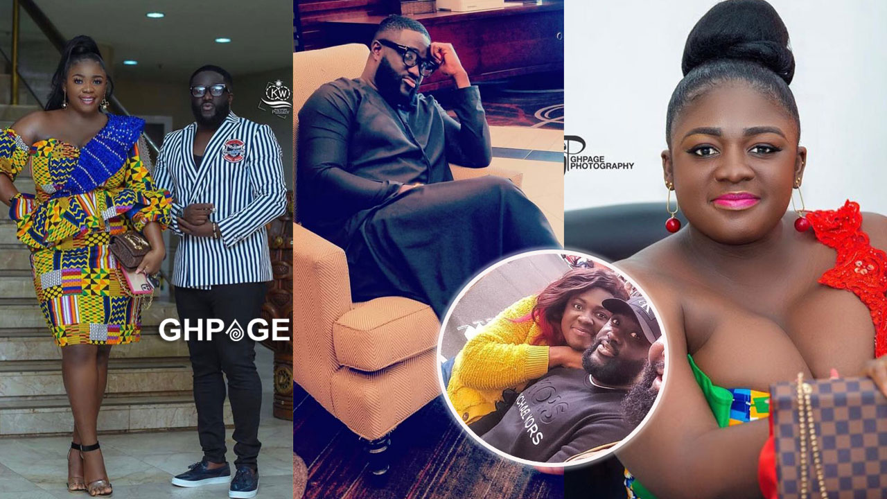Tracey Boakye allegedly dating Obrempong, the actor turned Pimp for Slay Queens