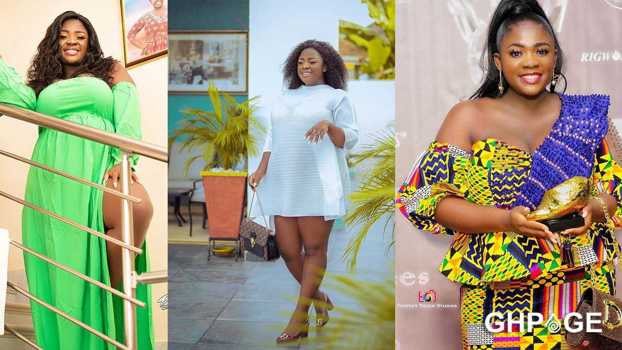 I became a celebrity thanks to my big melons – Actress Tracey Boakye