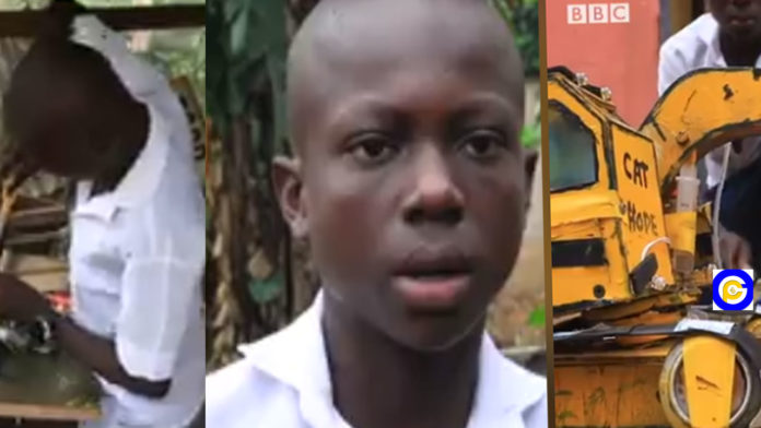 15-year-old-Nigerian-uses-drip-set,-syringe-and-condemned-lap-battery-to-create-an-excavator