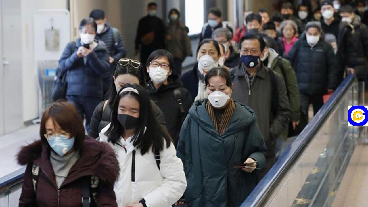 Coronavirus: Humans sprayed like Cocoa Pod on arrival at airport(Video)