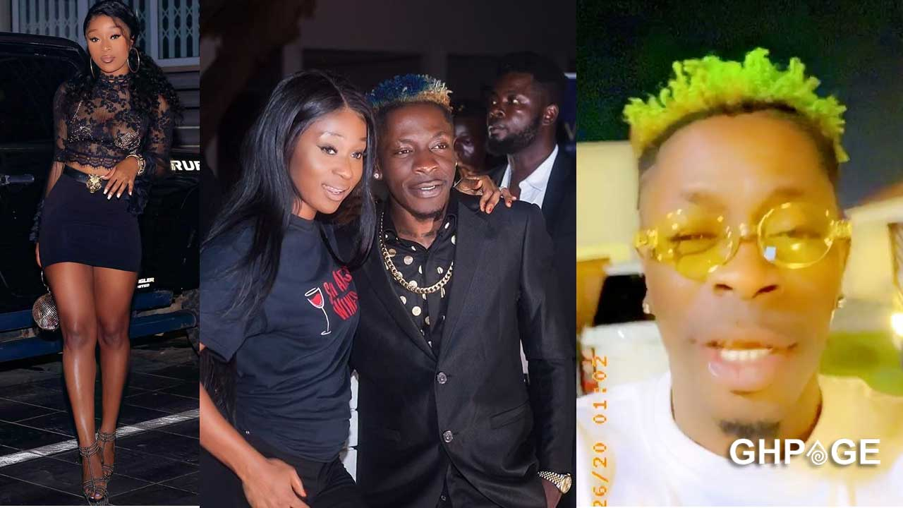 Real truth behind Shatta Wale and Efia Odo's break-up finally revealed