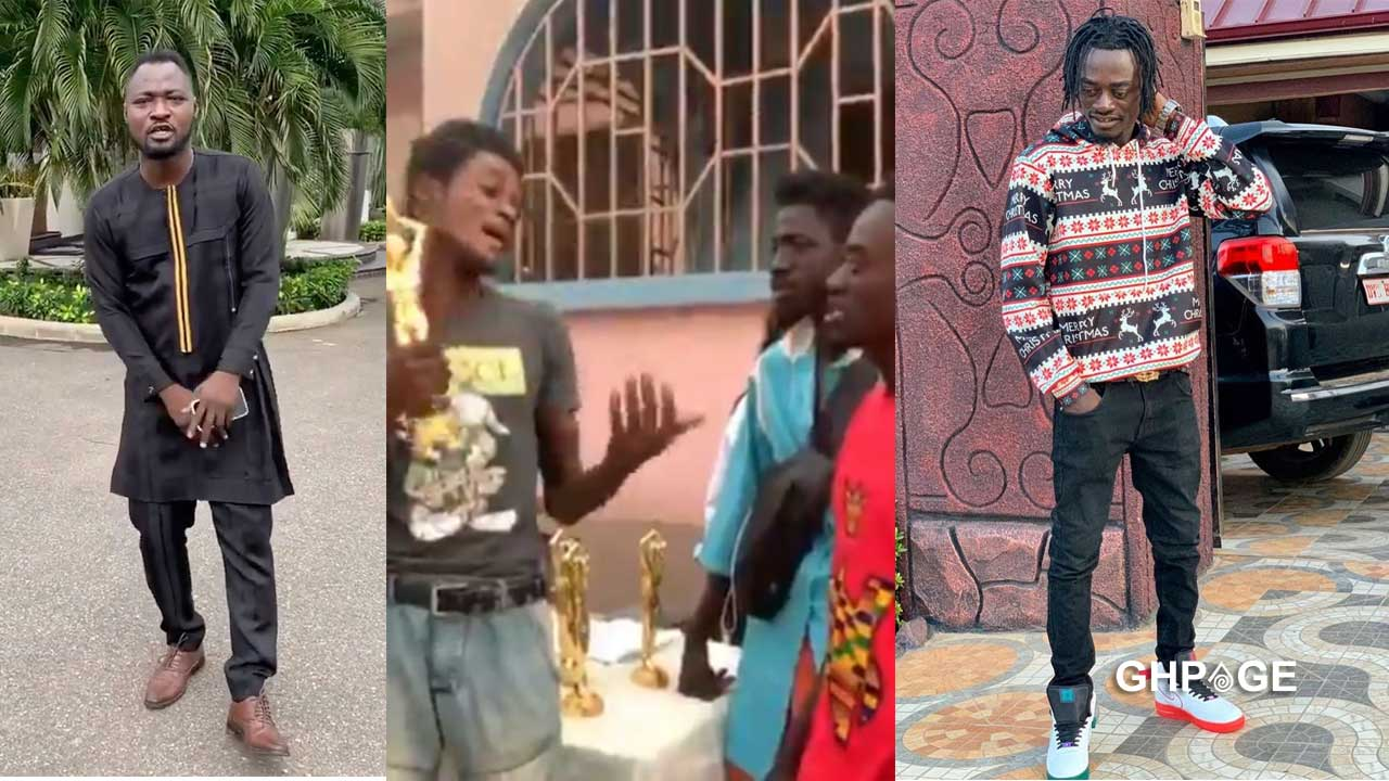 Kumawood actor Lil Win releases comedy skit to troll Funny Face
