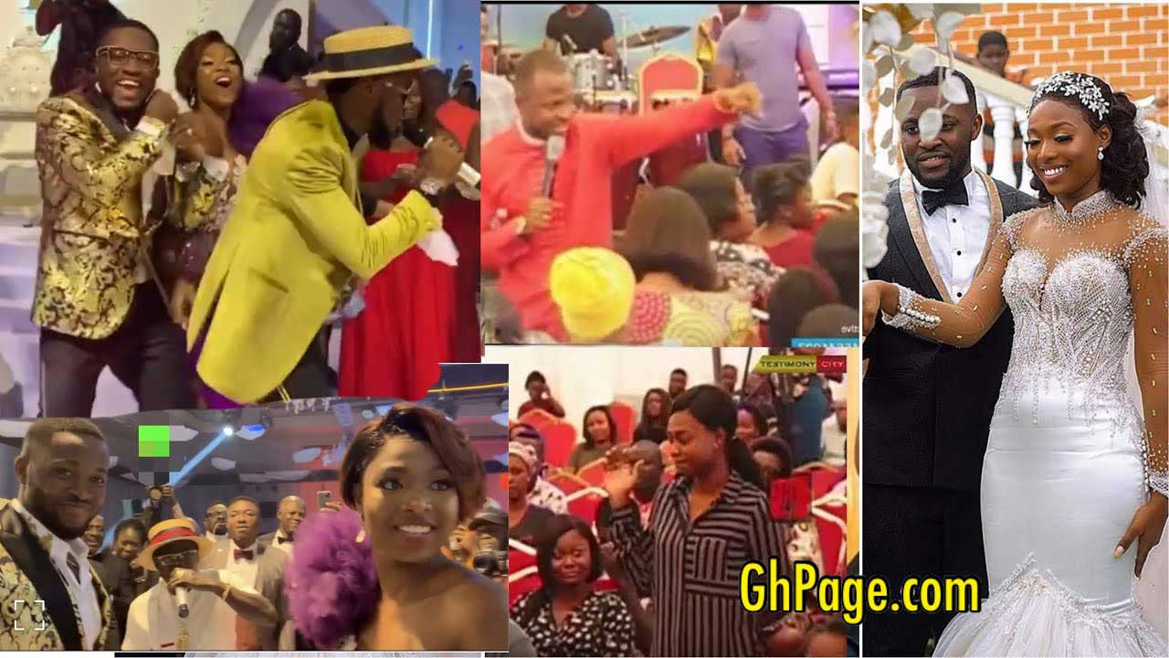 Throwback video of a Prophet prophesying to Tracey that she would marry a rich man surfaces