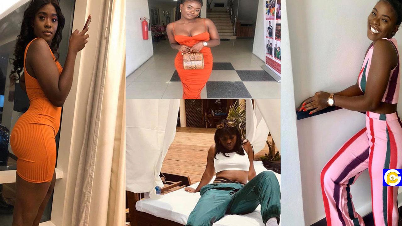 Fella Makafui's sister Fendy shakes the internet with juicy bedroom photos