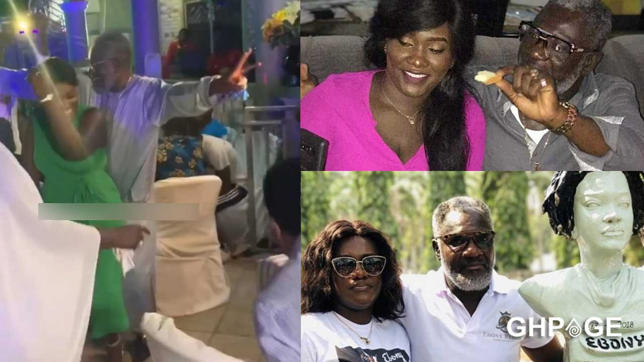 Starboy Kwarteng caught on tape grinding his daughter Foriwaa