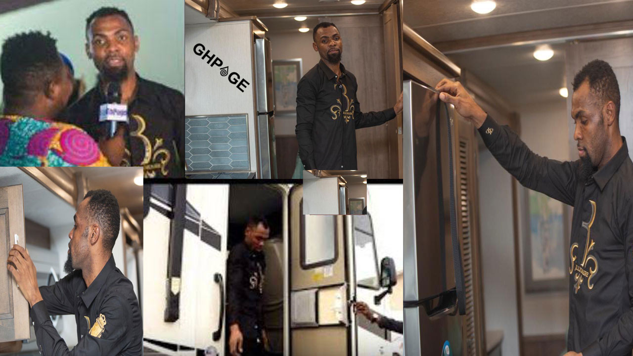 Obofour speaks on his new 'bus mansion' which has a bedroom, toilet & kitchen