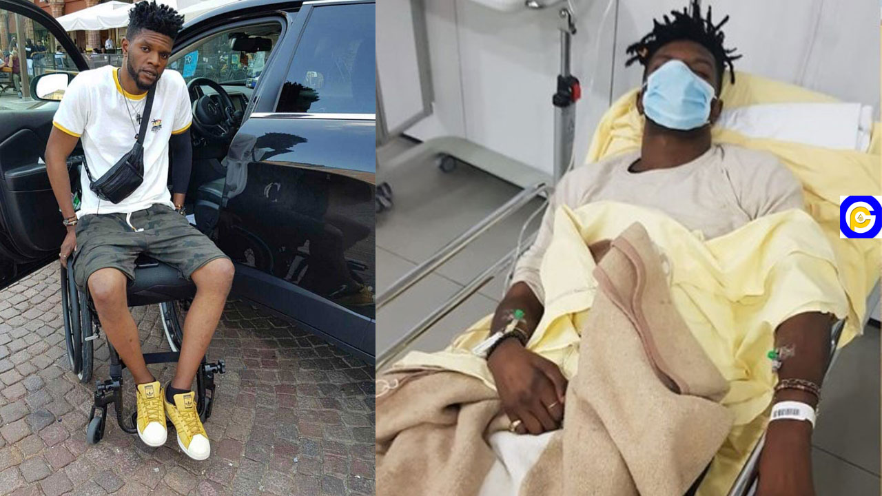 Ogidi Brown battles for his life after 8 days of being hospitalized