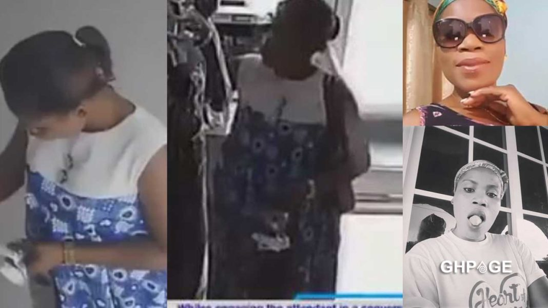 Slay Queen caught stealing at a birthday party - GhPage