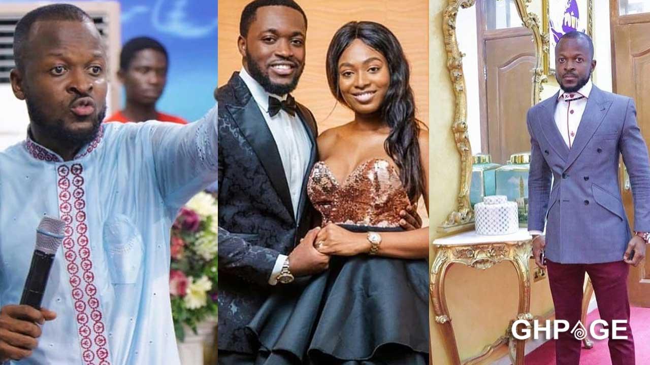 Meet the prophet who prophesied the lavish wedding between Tracy & Kennedy Osei Asante(Photos)