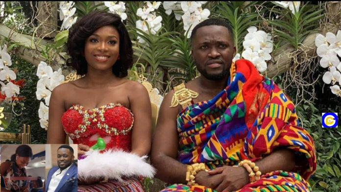 Story-of-how-Despite's-son,-Kennedy-Osei-met-his-Queen-Tracy-will-amaze-you