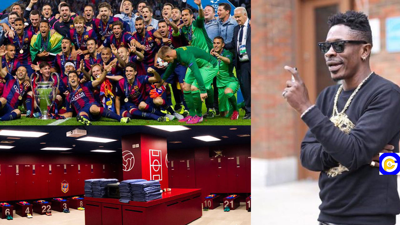 """""""The name is not an ordinary name""""-Shatta Wale reacts after Barcelona used his song before their match"""