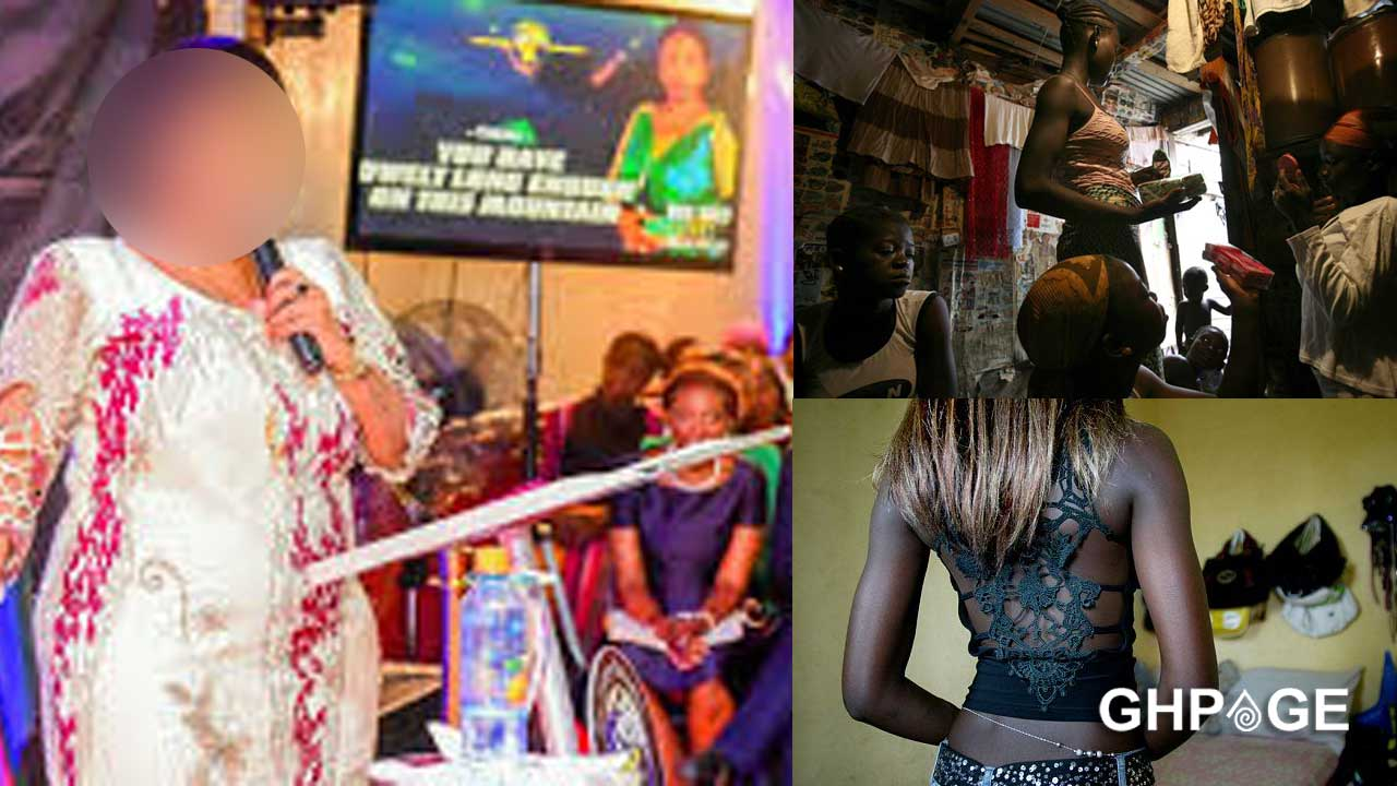 Popular female pastor who uses her church as an 'ashawo' joint arrested