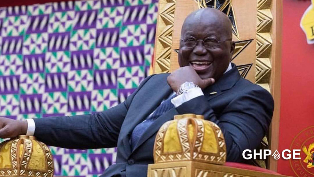 Nana Addo donates his 3 months salary to COVID-19 fund