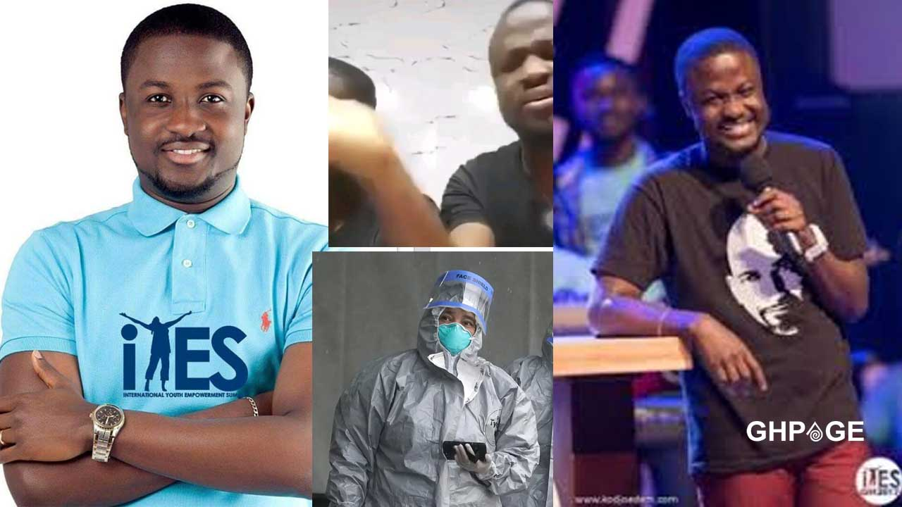 Pastors are not supposed to be giving you sanitizers, food, and money this hard time – Pastor Brian Amoateng