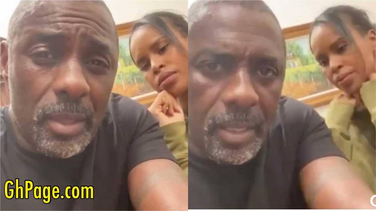 Idris Elba and daughter