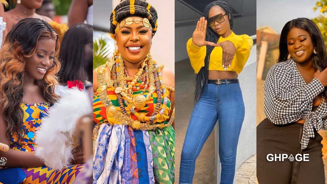Female celebrities missing from Fella Makafui's engagement to Medikal