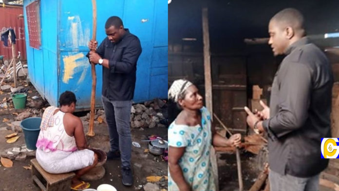 John-Dumelo-pounds-fufu-to-campaign-for-votes
