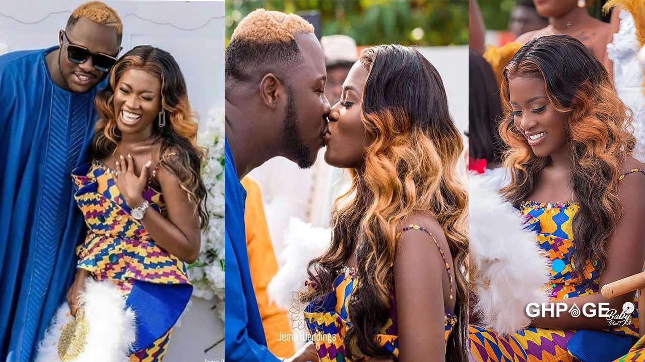 Fella Makafui's plan not to abort her fifth pregnancy for Medikal made him marry her