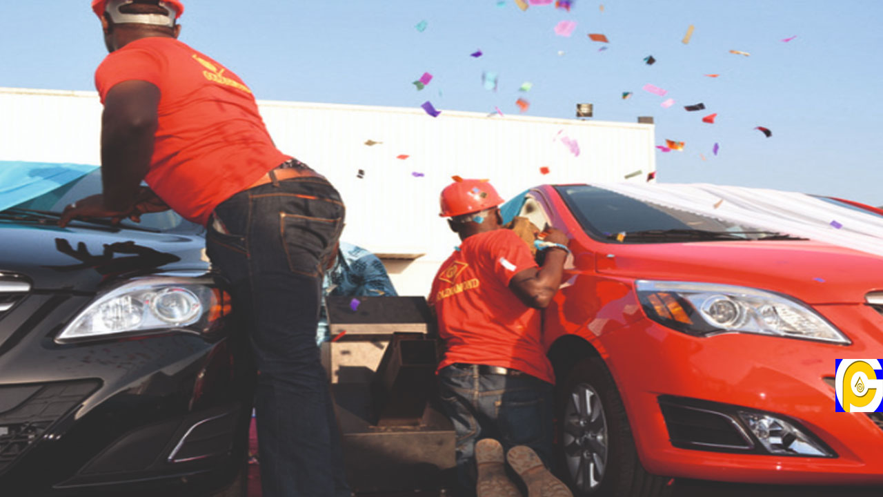 Pastor shocks church members as he wins a car in Guinness alcohol drinking competition