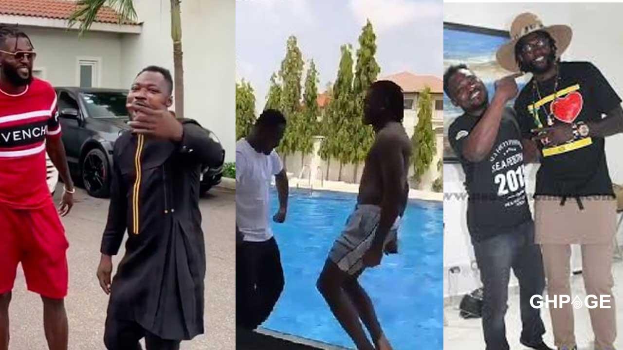 Adebayor warns Funny Face to stop posting unnecessary stuff on social media