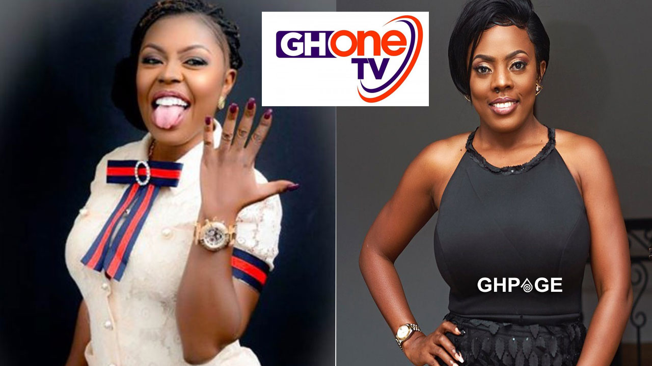 Afia Schwarzenegger mocks Gh One TV for showing 'Pono' live on TV