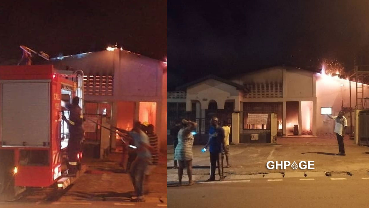 Ho: Assemblies of God church catches fire during online service (Video)