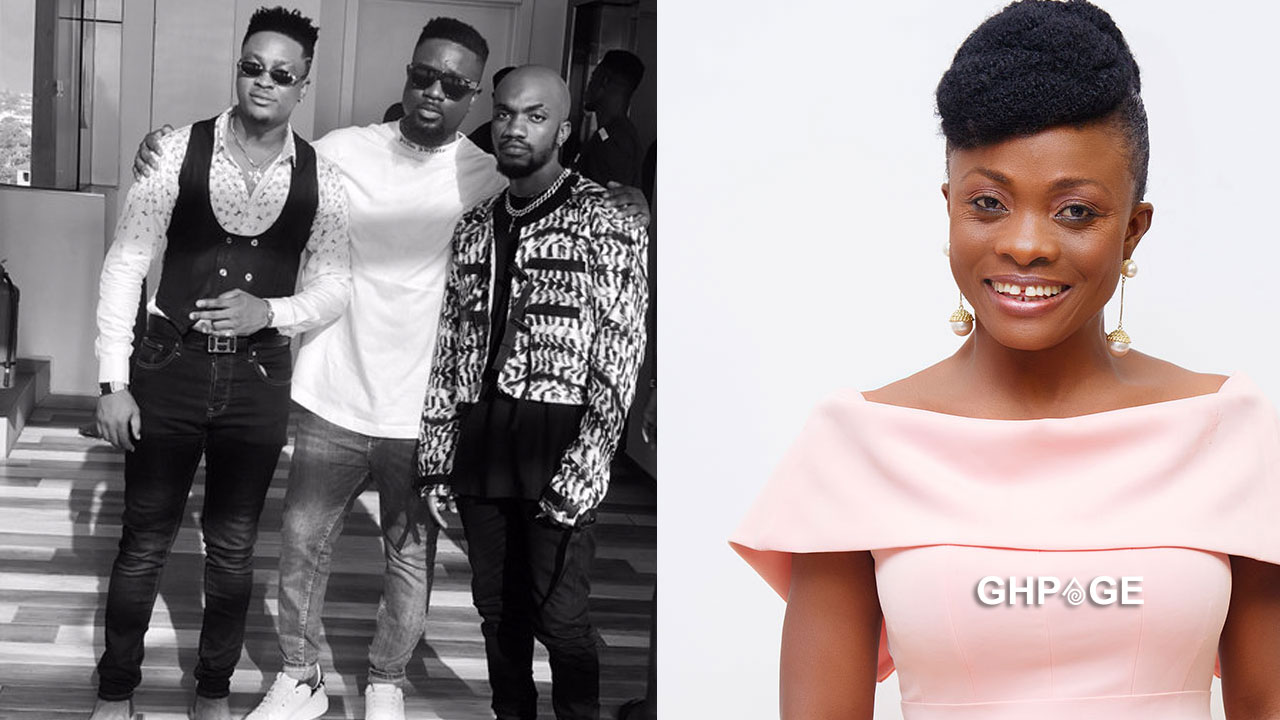 Diana Asamoah reacts to her name been used in the popular 'Dw3' song (Video)