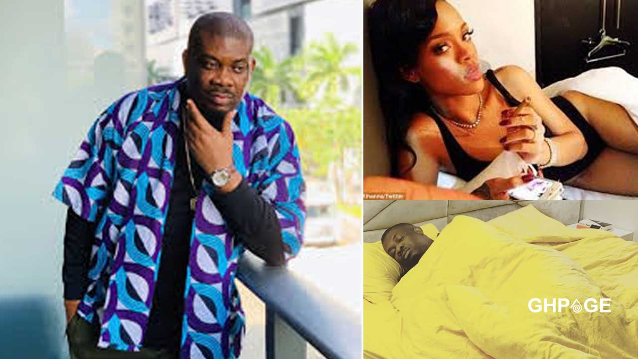 Photo of Don Jazzy on self-isolation chilling with Rihanna in his bedroom goes viral