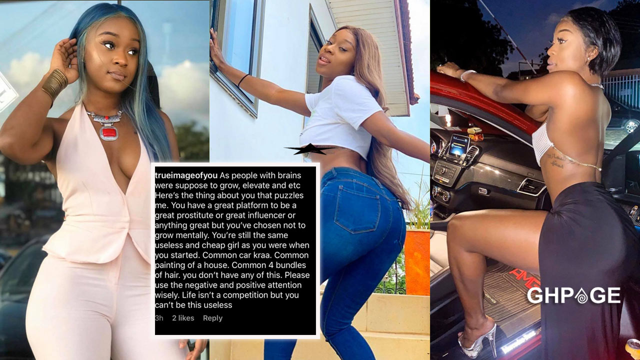 Fans mock Efia Odo for claiming to be the queen of masturbation