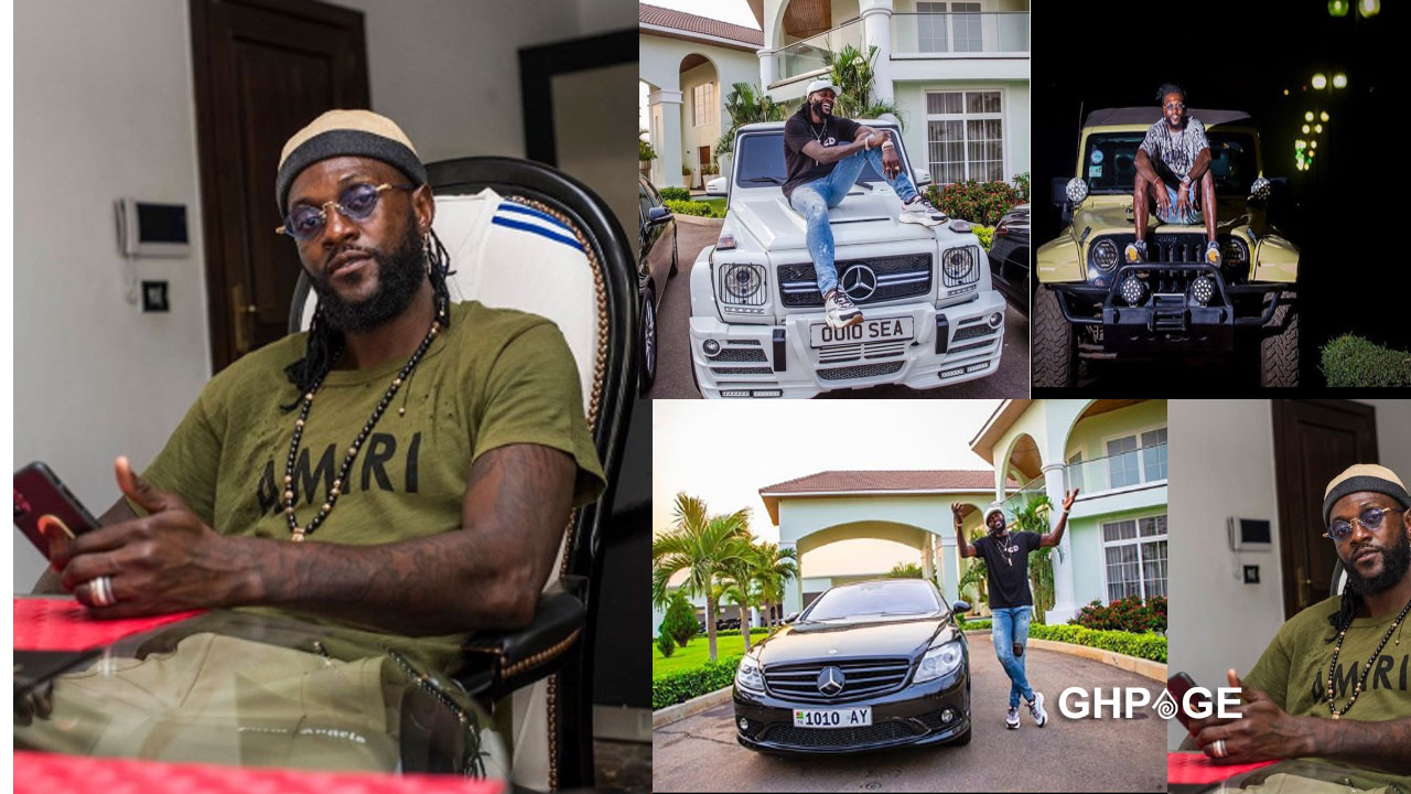 Emmanuel Adebayor  flaunts his classy million dollar mansion and closet on social media