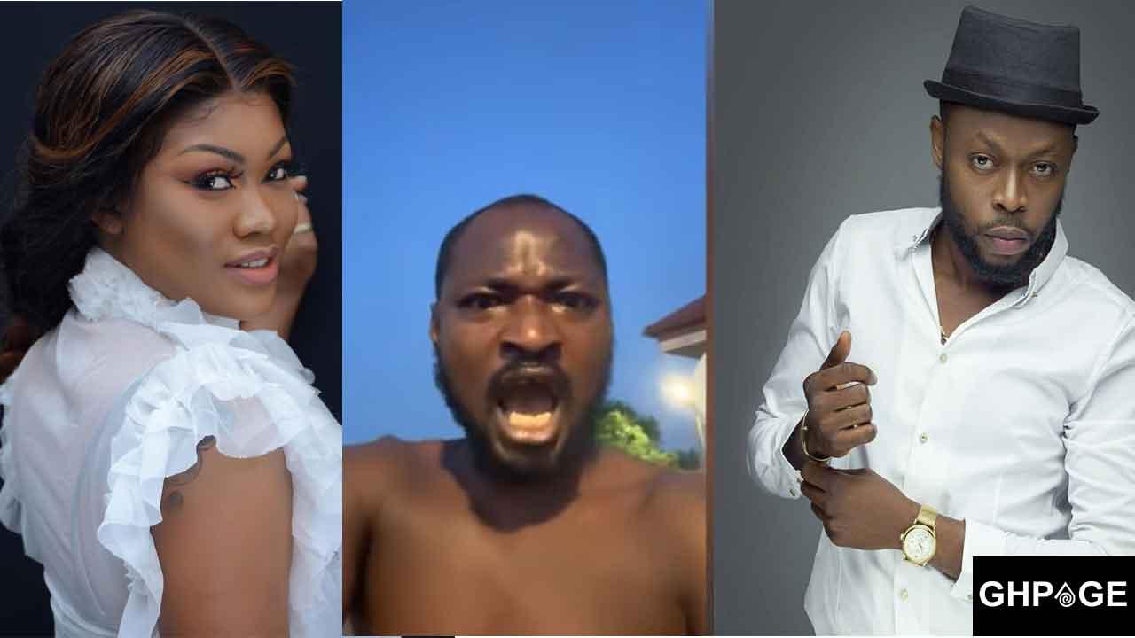 Funny Face sheds tears as he rain curses on Lilwin, Sandra Ababio & Kalybos