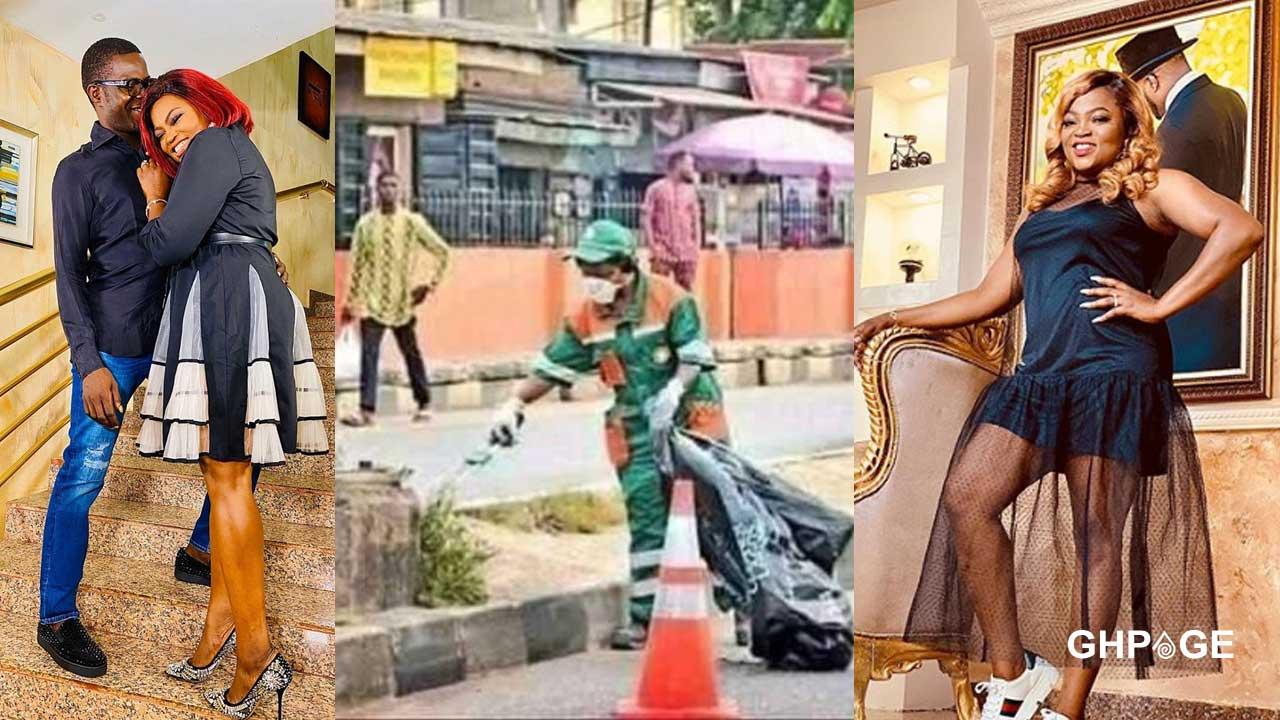 Funke Akindele hits the streets to begin her community service