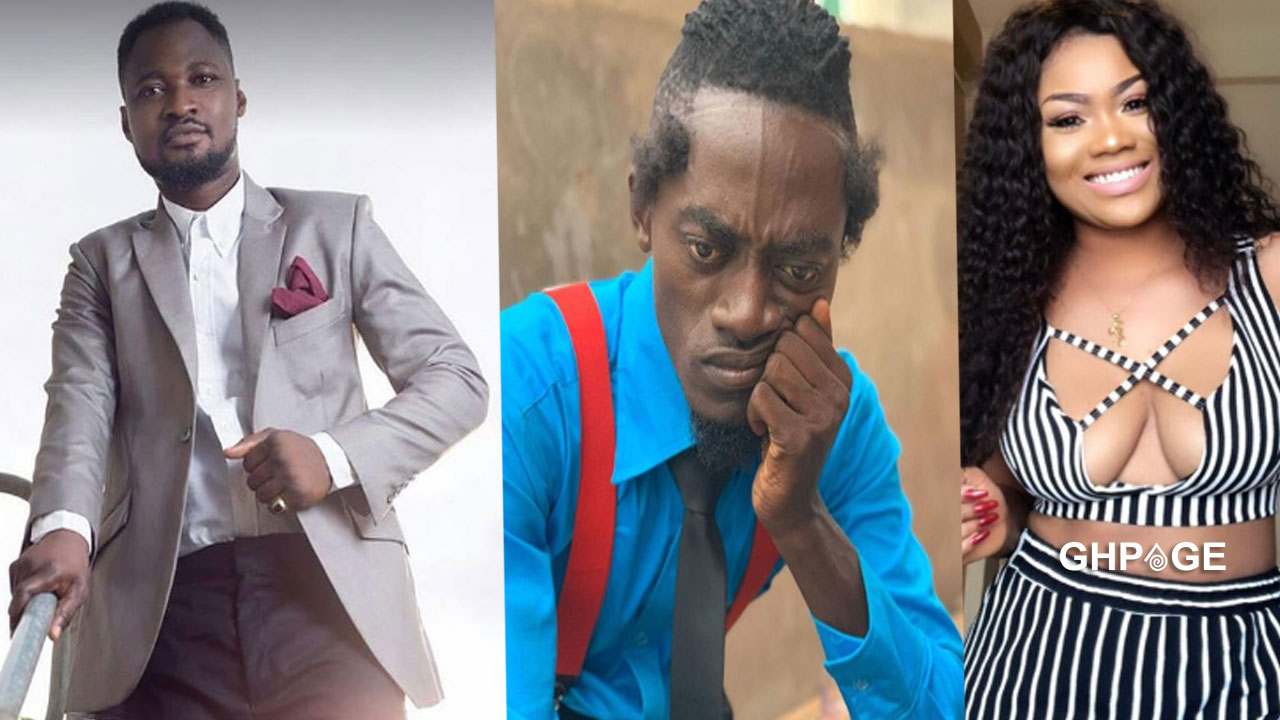 Funny Face attacks Lilwin's girl Sandra Ababio for spreading lies about him