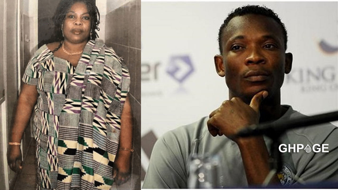 John Paintsil confirms the death of his mother