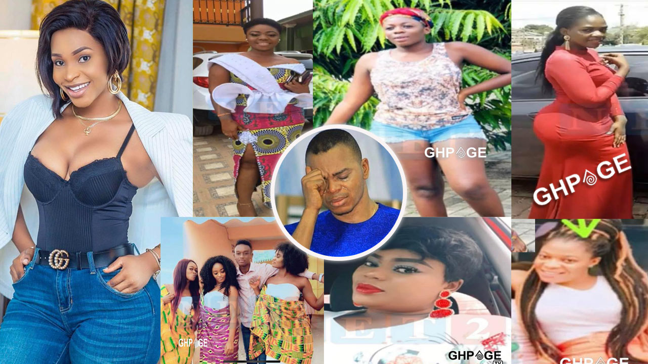 Kennedy Agyapong shows photos of all the 13 girlfriends of Obinim