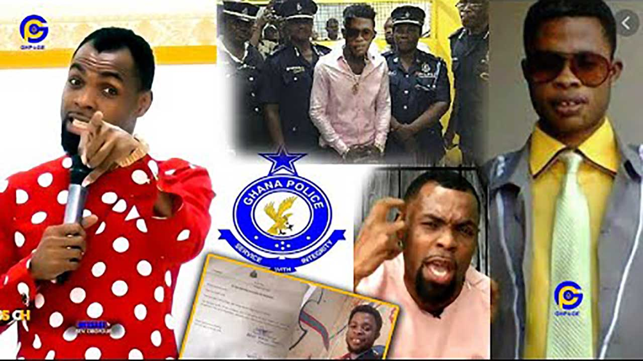 Fake prophet who falsely accused Rev. Obofuor of eating intestines declared wanted by the Police (VIDEO)