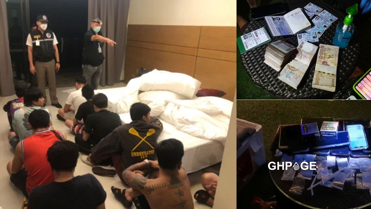 Police arrest group of friends who flouted lockdown orders to have a debauchery