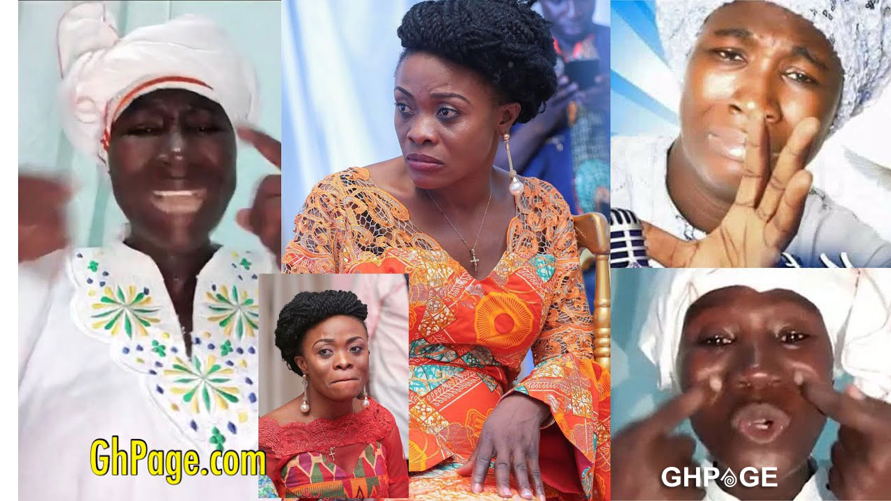 This's not the time to destroy me on radio – Cecilia Marfo replies Diana Asamoah over 'spit in mouth'