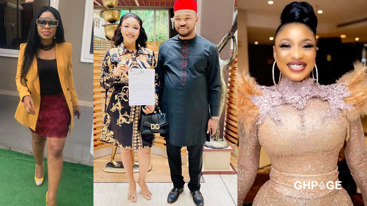Tonto Dikeh has been sleeping with Politicians to survive – Former best friend