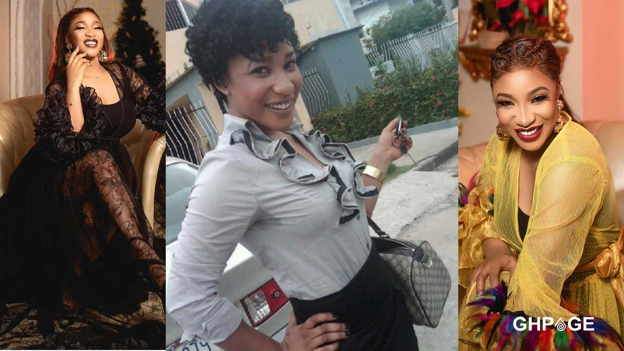 Tonto Dikeh give thanks to plastic surgery for making her look good