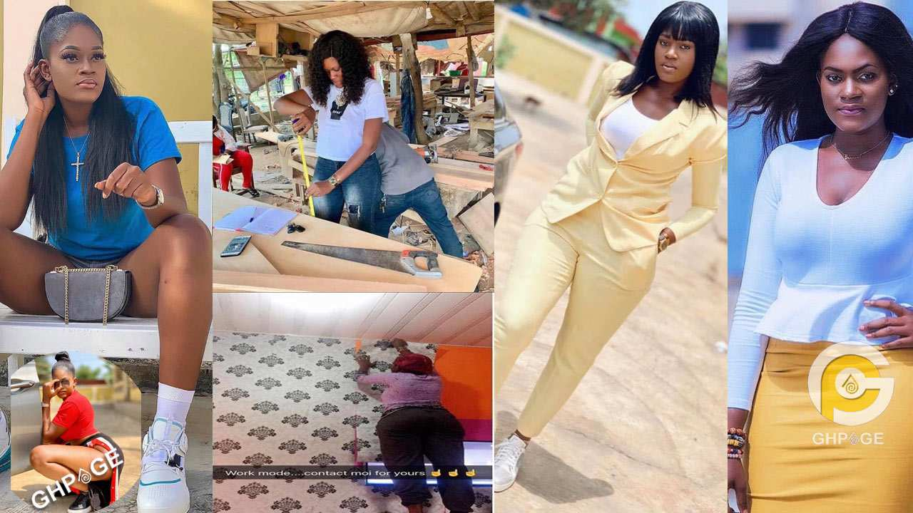 Ama Endorsed; the sexiest Ghanaian carpenter who first set out to be a lawyer