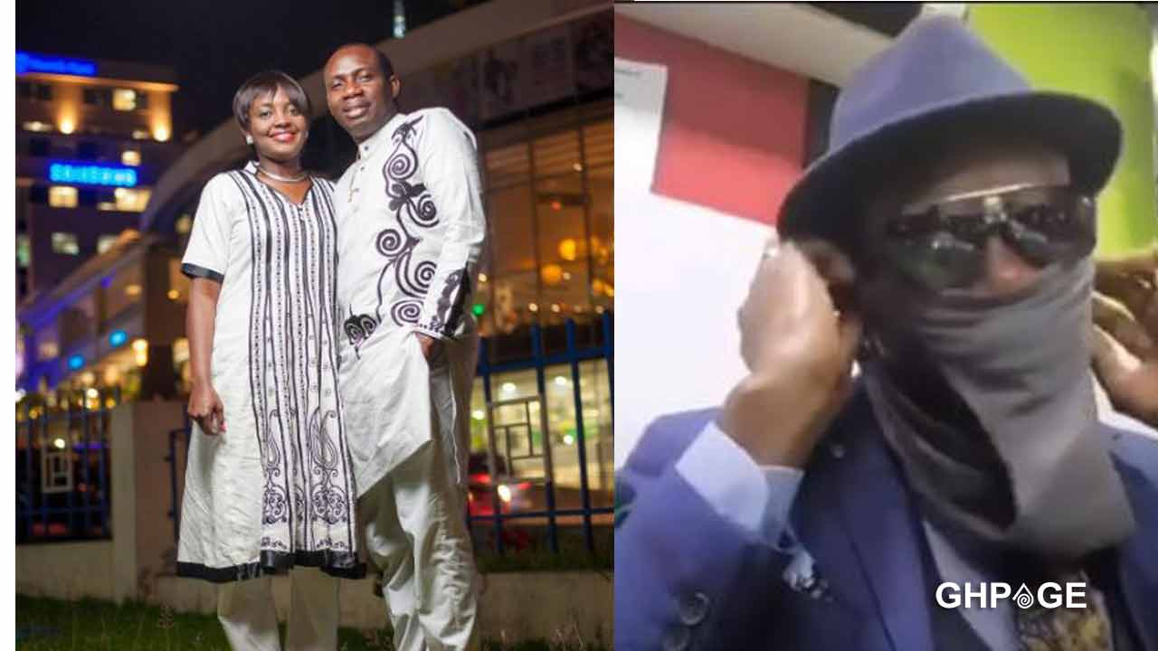 Counsellor Lutterodt uses wife's pant as nose mask to avoid catching COVID-19