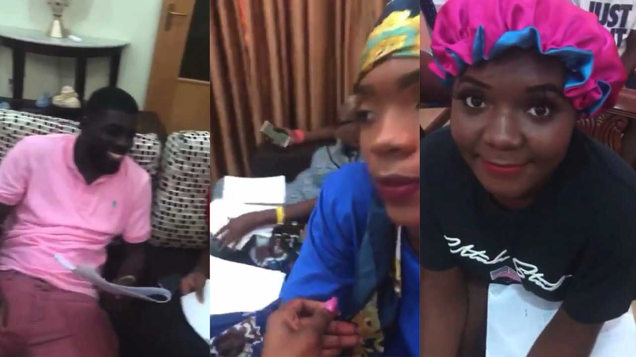 Video of Date Rush participants reading their scripts surfaces online