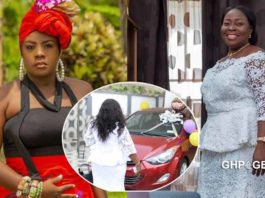 Emelia Brobbey surprises her mother with a brand new car on her birthday & mother's day
