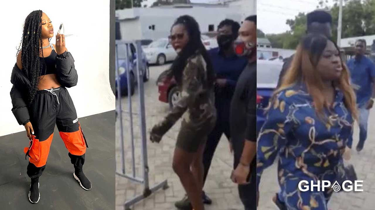 How social media reacted after a video of Sista Afia and Freda Rhymz fighting surfaced