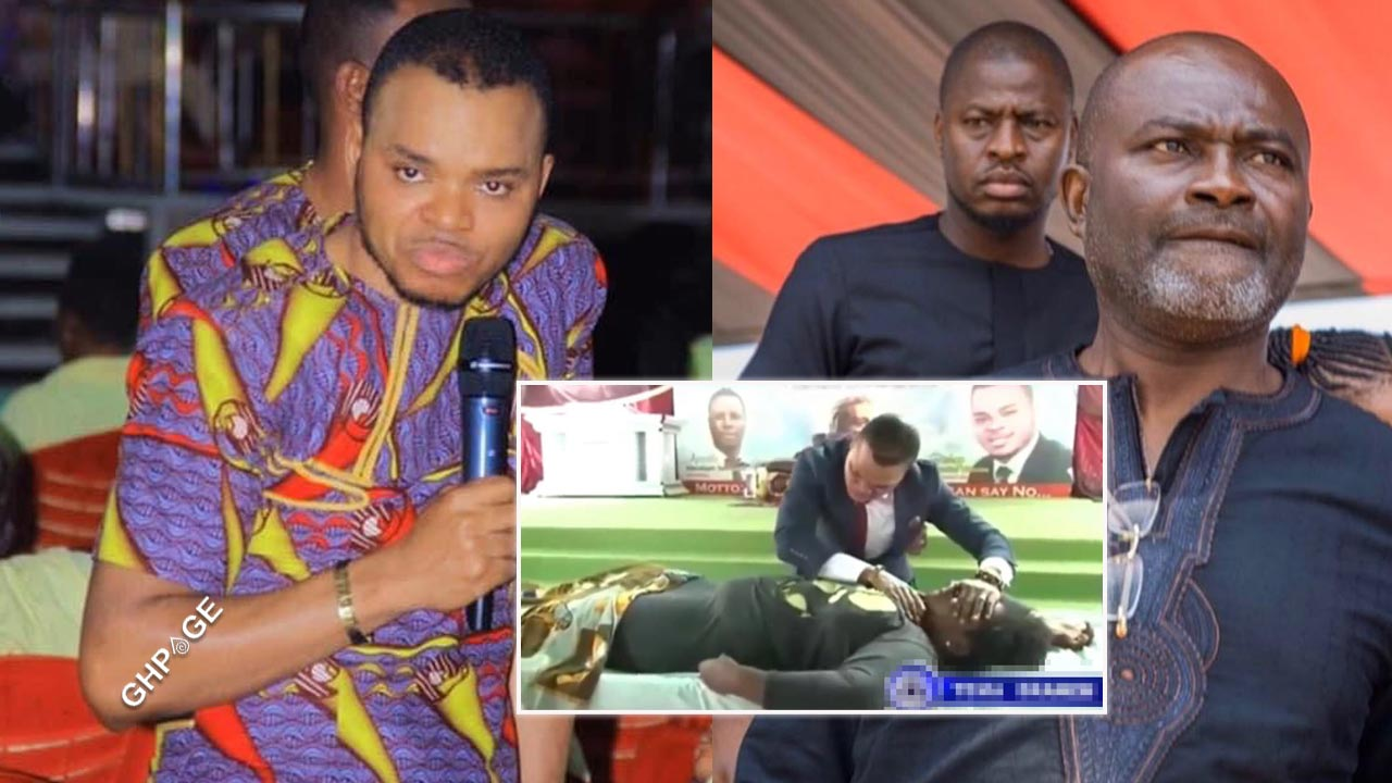 Obinim exposed again by Ken Agyapong for faking a dead woman resurrection